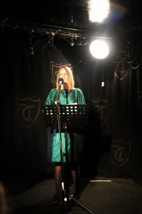 Reading at the Troubadour