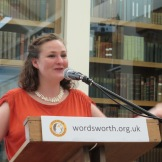 Emily Hasler reading from 'The Built Environment' (Pavilion) at The Wordsworth Trust